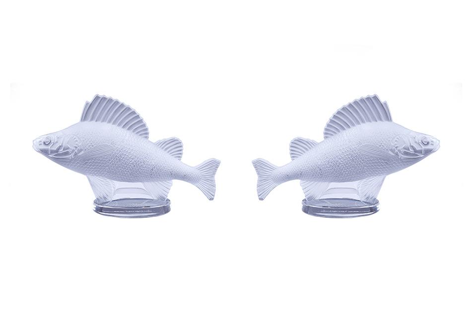 "Lalique ""Poisson Perch Fish Car"", 9.5 см"