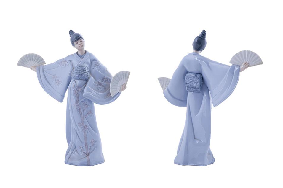 Статуэтка Lladro JAPANESE GEISHA KIMONO, 30 см