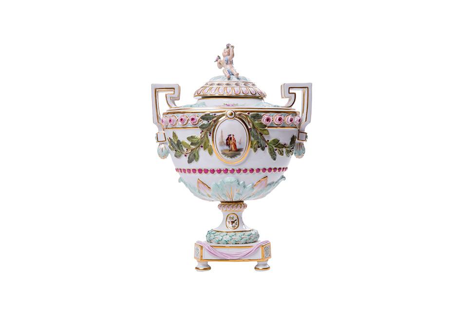 Декоративная ваза Meissen, 26.5 см