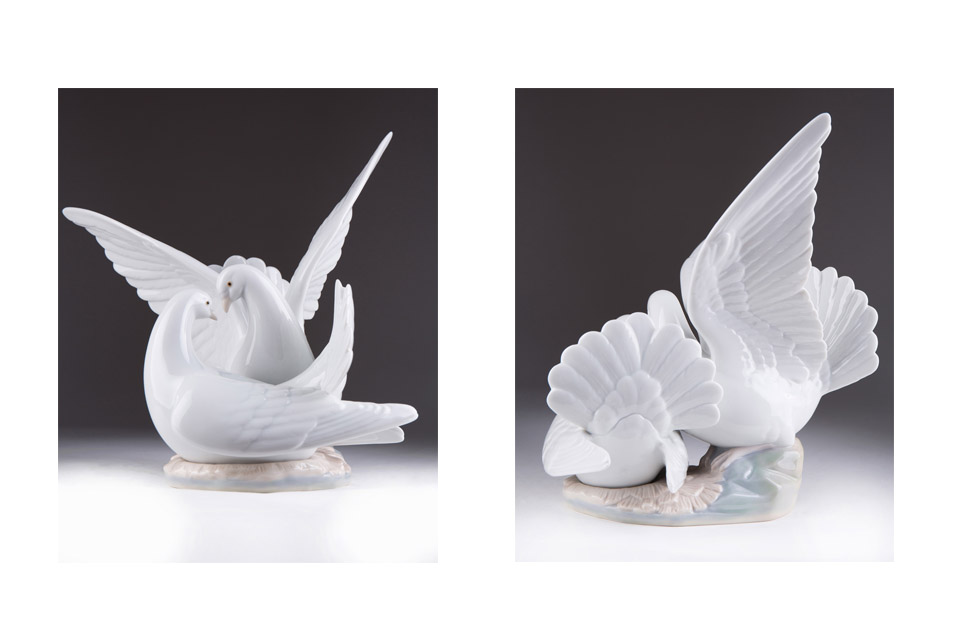 "Статуэтка Lladro ""LOVE NEST"", 24 см"