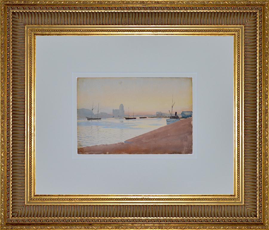 Альберт БЕНУА «Утро в порту»