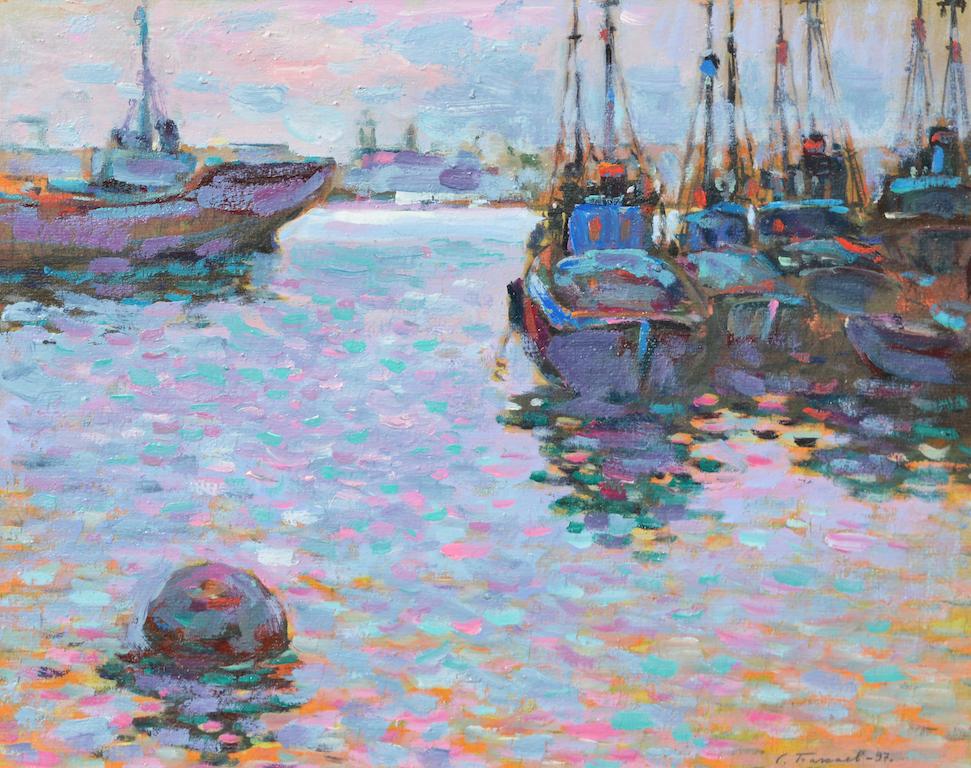 Сергей Бакаев «Корабли у побережья»
