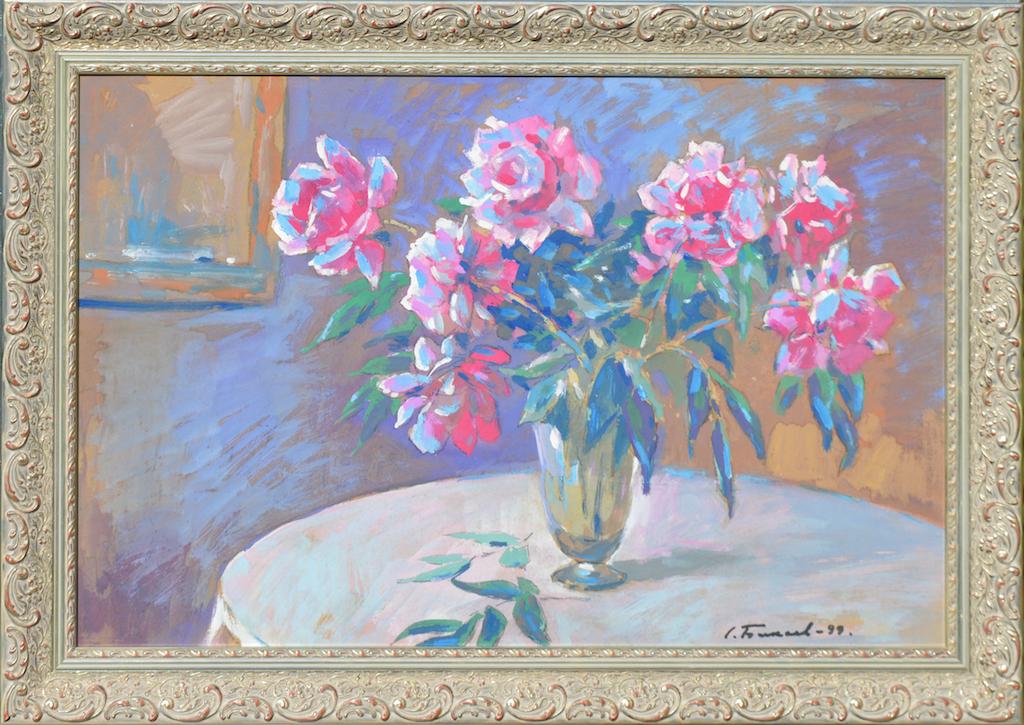 Сергей Бакаев «Цветочный натюрморт»