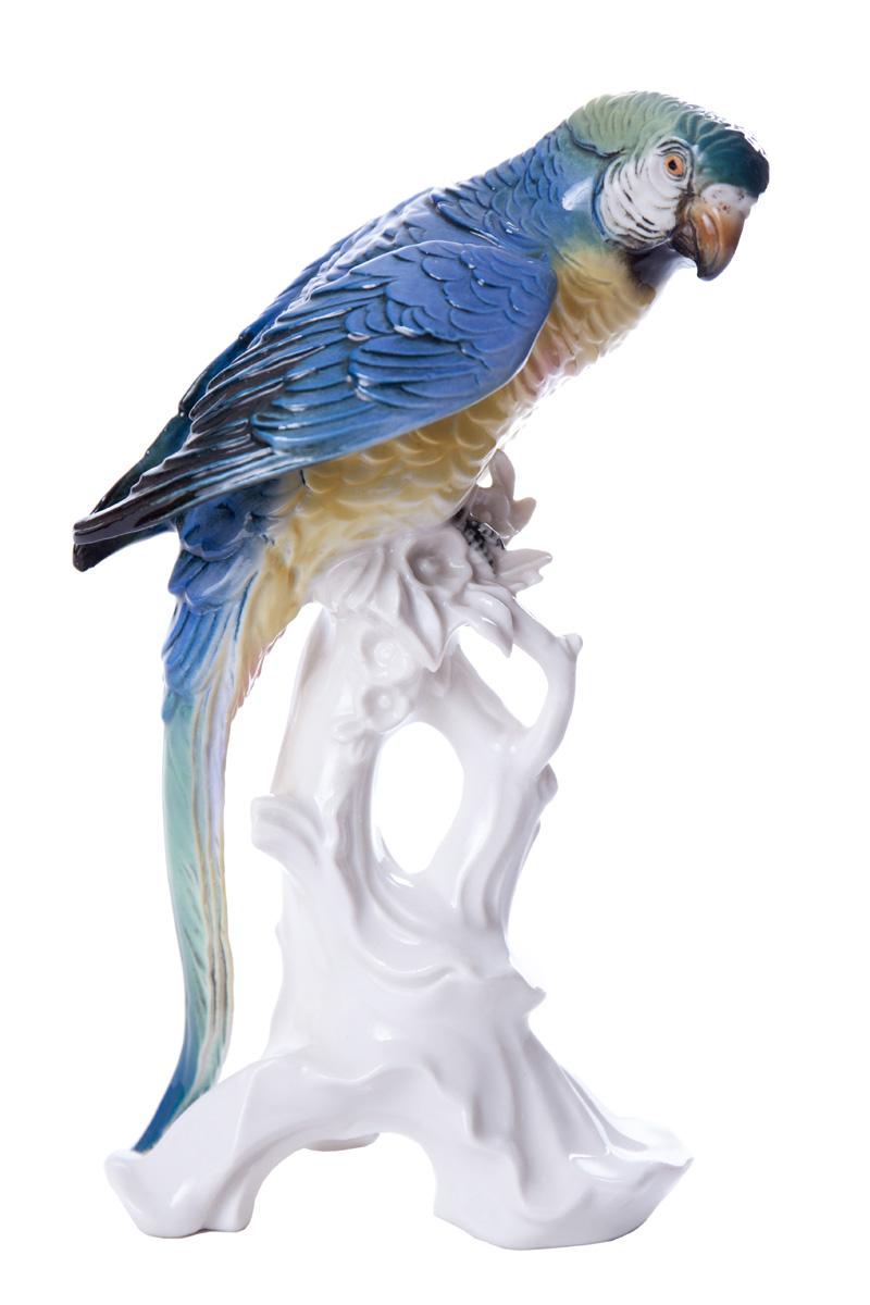 """Фарфоровая статуэтка KARL ENS """"Волнистый попугай"""", 24 см"""