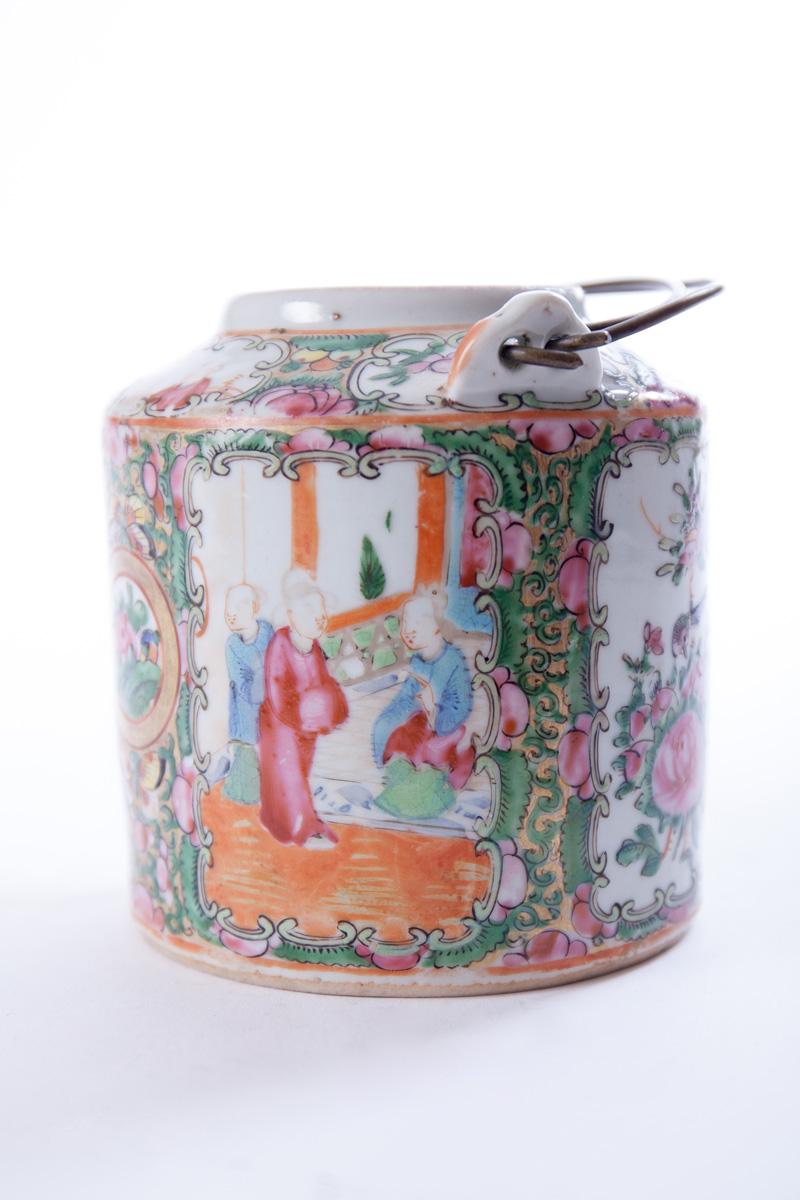 "Заварочный чайник ""CANTON FAMILLE ROSE"", 10.5 см"