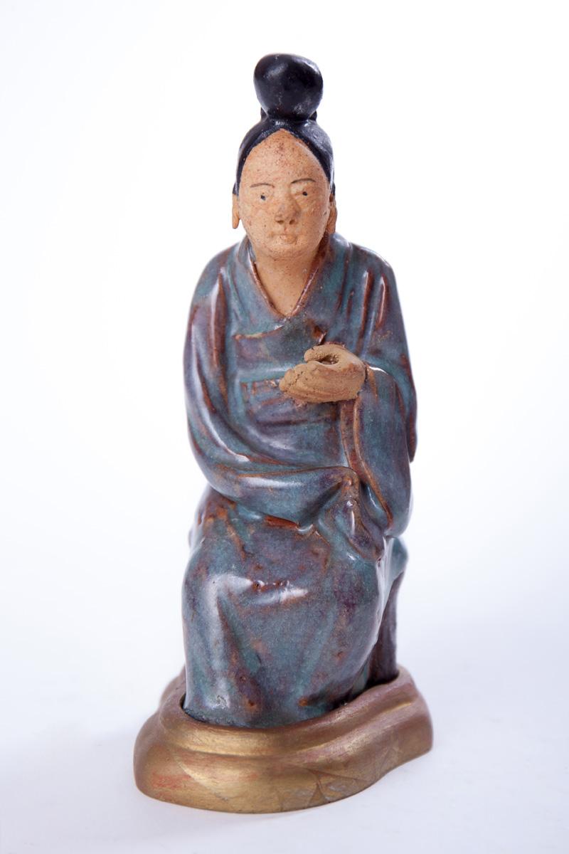 """Статуэтка """"Пожилая китаянка"""", 15.5 см"""