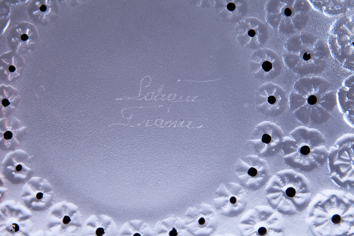 """Чаша Lalique """"NEMOURS"""", 25.5 см"""
