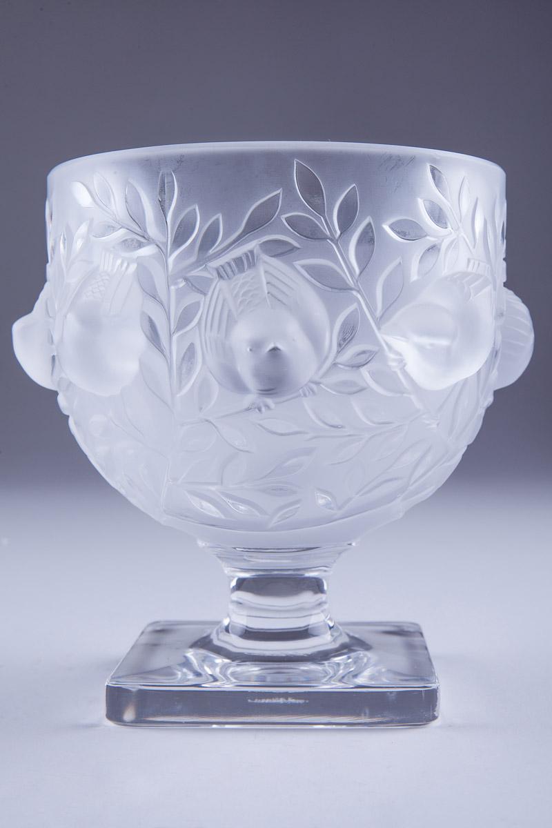 """Небольшая ваза Lalique """"ELISABETH"""", 13.5 см"""