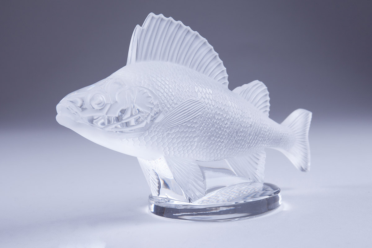 "Lalique ""Poisson Perch Fish Car"", 9.5 см"