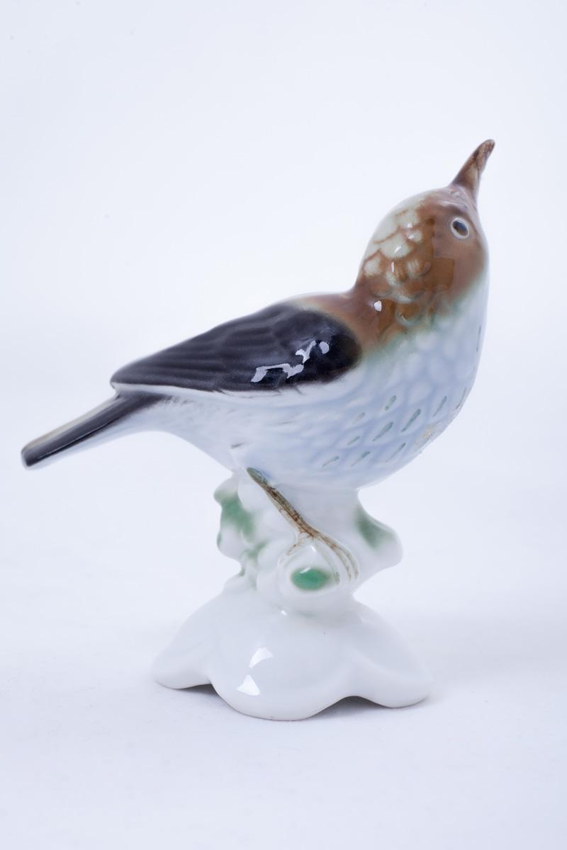 """Миниатюрная статуэтка Gerold Porzellan Bavaria """"Мухоловка"""", 10 см"""