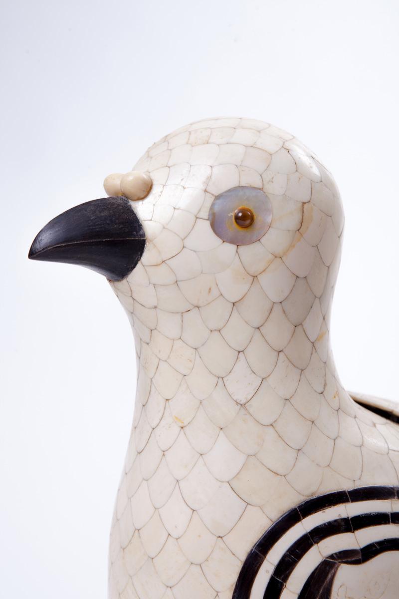 Японская статуэтка птицы в стиле арт-деко, 30 см