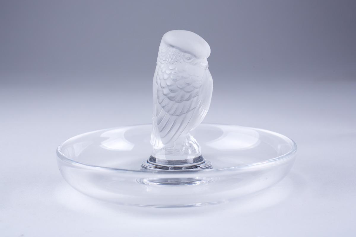 Миниатюрная статуэтка птицы Lalique, 7 см
