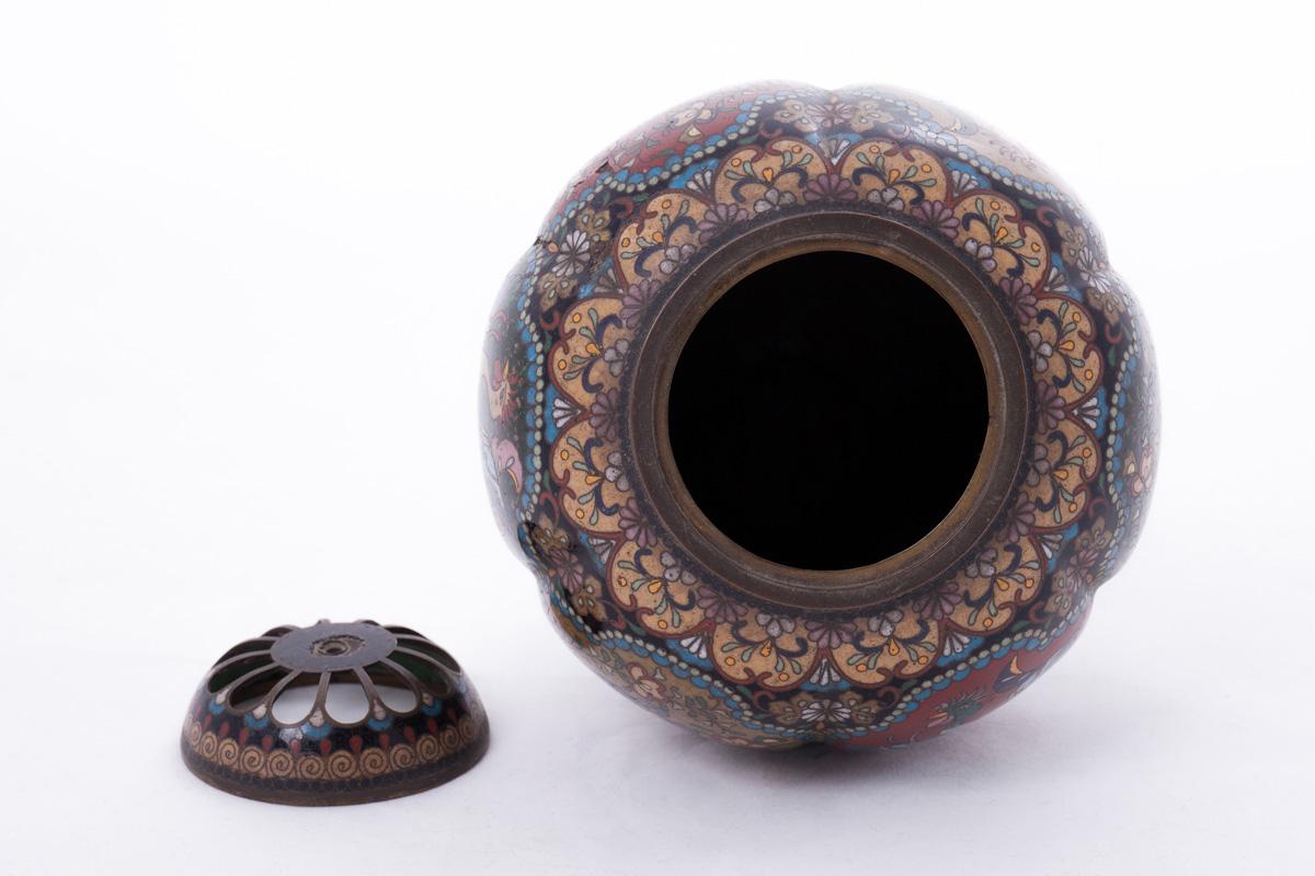 Миниатюрная благовонная горелка шаровидной формы, 12.5 см