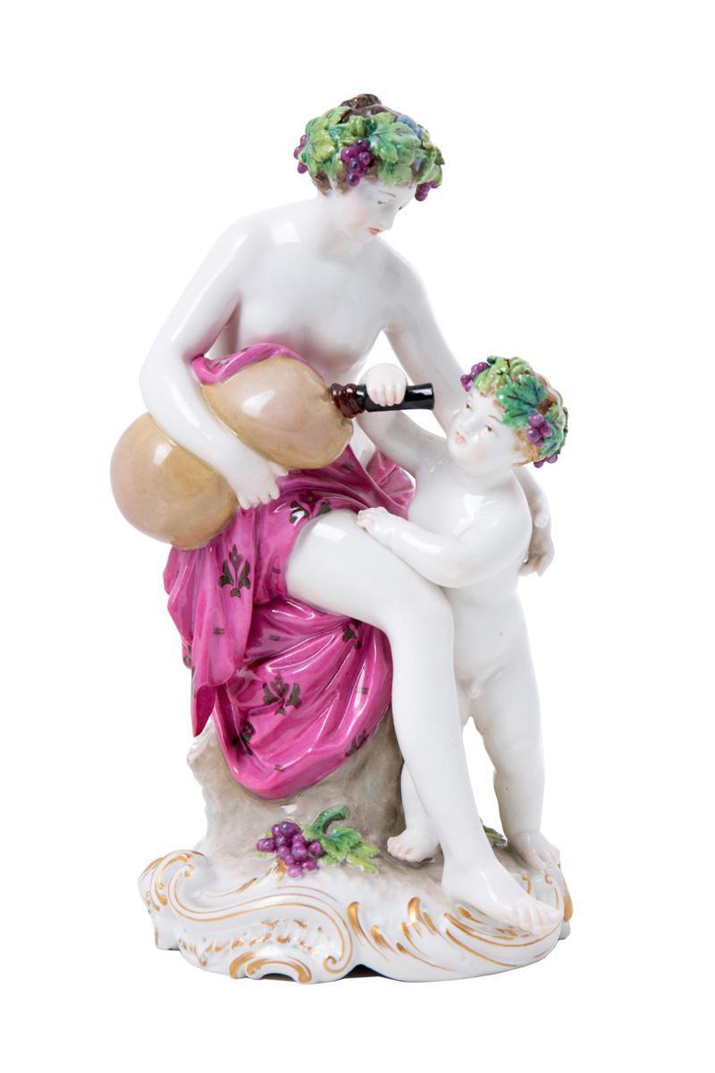 """Сюжетная статуэтка KPM """"Маленький Бахус"""", 19 см"""