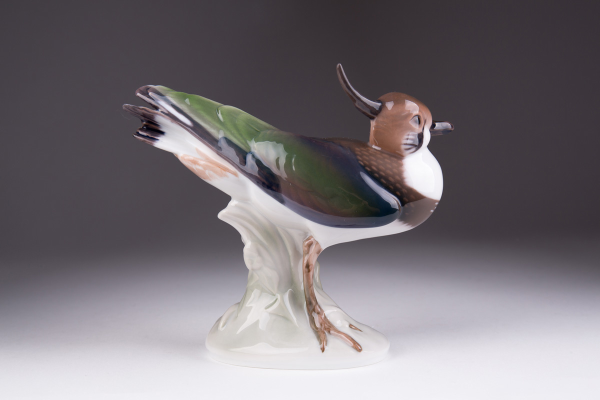 "Статуэтка Bing & Grondahl ""Птица Чибис"", 14 см"