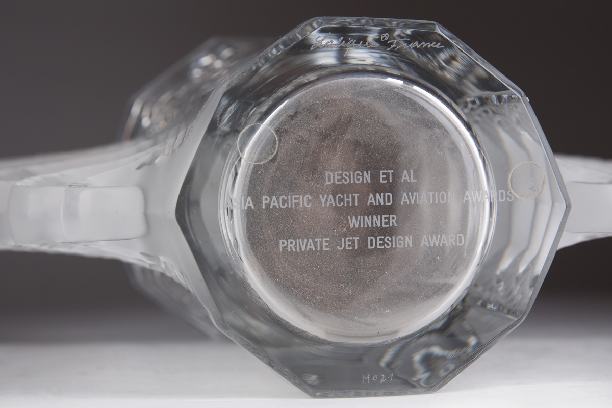 "Ваза Lalique ""Beauvais"", 19 см"