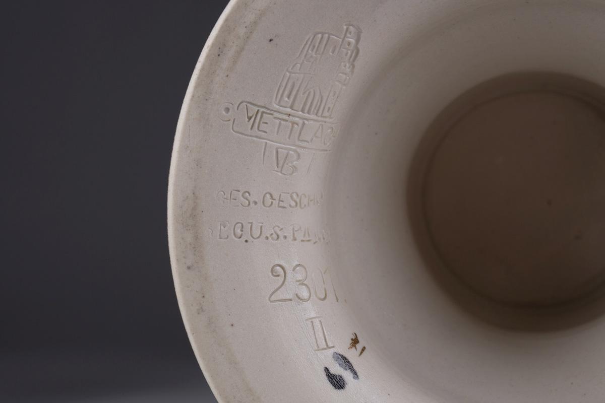 Парные вазы METTLACH, Villeroy & Boch, 39.5 см