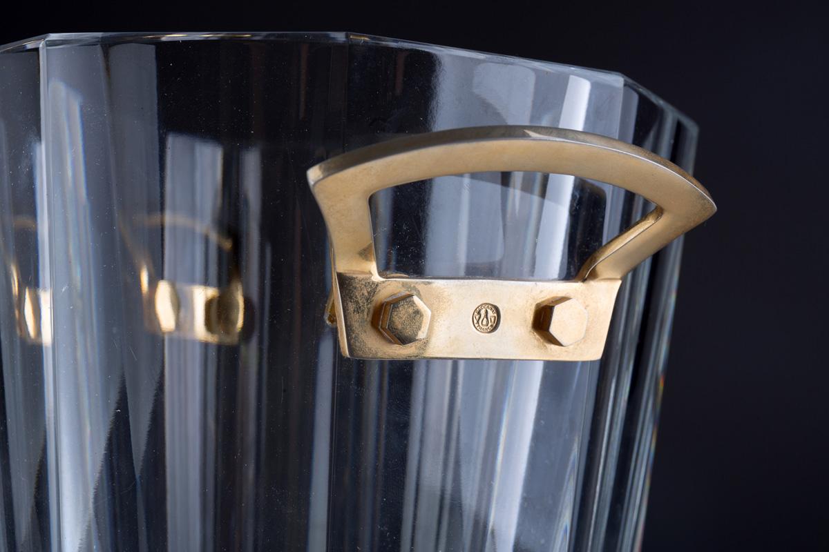 Хрустальное ведро для шампанского BACCARAT, 23 см