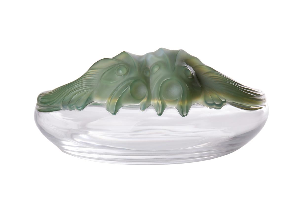 """Хрустальная чаша Lalique """"Yeso Antinea"""", 22 см"""