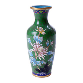 Миниатюрная вазочка с цветами, 8 см