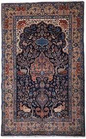 Персидский ковёр из Исфахана, 167 х 105 см