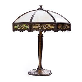 Настольная лампа Bradley & Hubbard, 58 см