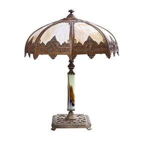 Настольная лампа в стиле арт-деко, 60 см