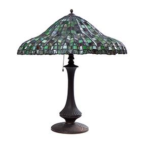 Настольная лампа QUOIZEL COLLECTION в стиле TIFFANY, 56 см
