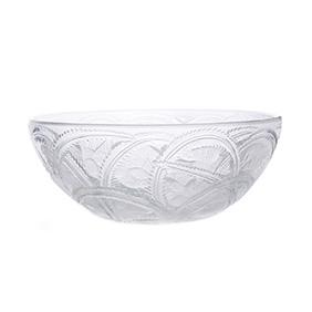 """Хрустальная чаша Lalique """"Pinsons"""", 23.5 см"""