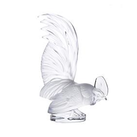 """Хрустальная статуэтка петуха Lalique """"Le coq nain"""", 20.5"""