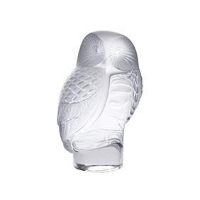"""Миниатюрная статуэтка совы Lalique """"Chouette"""", 8.8 см"""