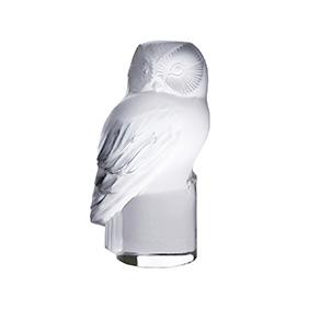 """Миниатюрная статуэтка совы Lalique """"Hibou"""", 9 см"""