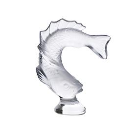 """Миниатюрная статуэтка рыбы Lalique """"Goujon"""", 8 см"""