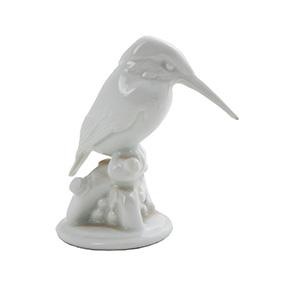 """Миниатюрная статуэтка """"Птичка Зимородок"""" мануфактуры KPM, 10 см"""