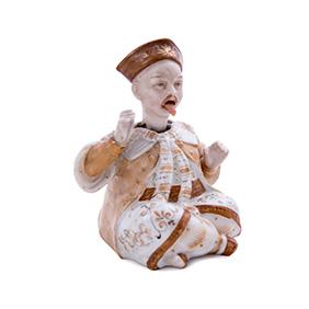Китайский болванчик с высовывающимся языком, 10.5 см