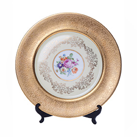 Коллекционная тарелка мануфактуры H&C Selb Bavaria, 27.8 см