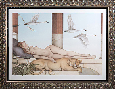 "Michael Parkes ""Going Nowhere"""