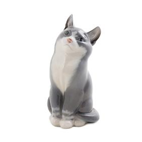 """Статуэтка ROYAL COPENHAGEN """"Сидящий котёнок"""", 13.5 см"""