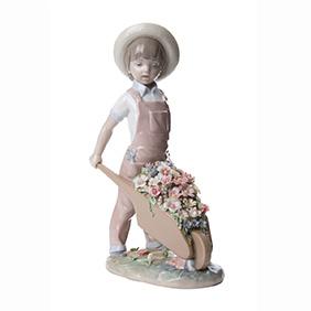 """Статуэтка Lladro """"Маленький cадовник"""", 24.5 см"""
