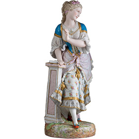 Большая скульптура французской мануфактуры VION & BAURY, 70 см