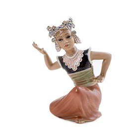 "Статуэтка Dahl Jensen ""Танцовщица"", 15.5 см"