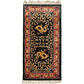 Китайский шёлковый коврик, 140 х 69 см
