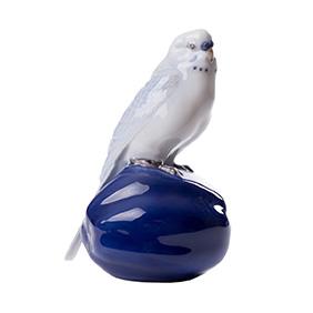 """Статуэтка ROYAL COPENHAGEN """"Волнистый попугайчик"""", 14.5 см"""
