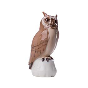 """Статуэтка Bing & Grondahl """"Ушастая сова"""", 11.5 см"""