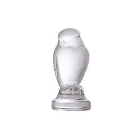"""Миниатюрная хрустальная статуэтка Lalique """"Rapace"""", 6.3 см"""