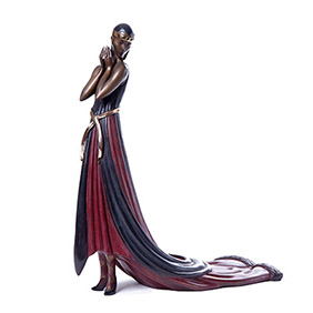 "Бронзовая скульптура Erté ""SPLENDOR"", 36 см"