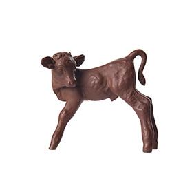 """Коллекционная статуэтка MEISSEN """"Телёнок"""" из керамогранита, 9 см"""