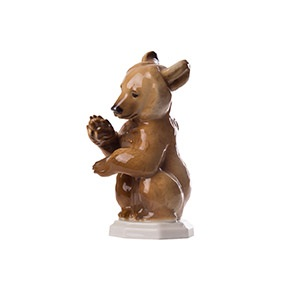 "Коллекционная статуэтка ALLACH ""Бурый медвежонок"", 10 см"