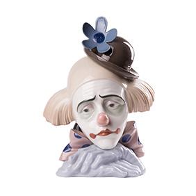 "Lladro ""Бюст клоуна"", 26 см"