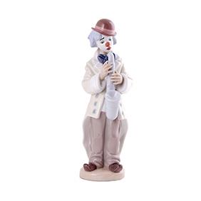 """Статуэтка Lladro """"Клоун с саксофоном"""", 23 см"""